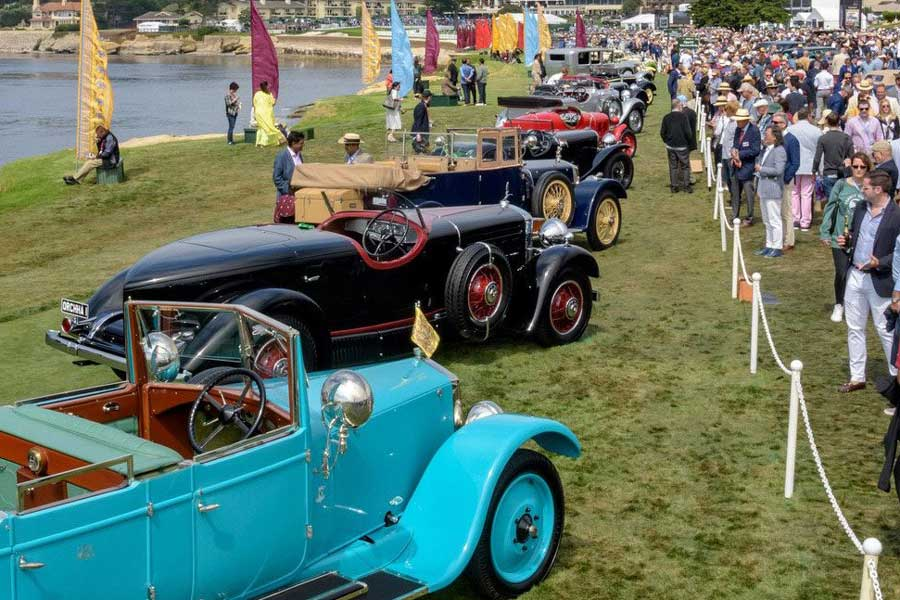 Pebble Beach Car Show >> Pebble Beach Concours Announces Ticket Prices For 2019